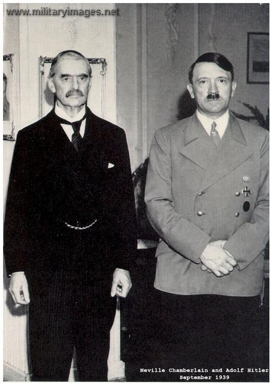 Mstartzman Munich Pact Neville Chamberlain