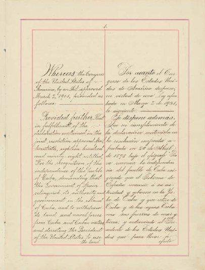 Mstartzman Platt Amendment Fourth