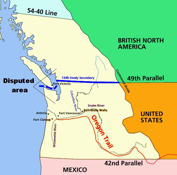 mstartzman    settlement of oregon dispute  explain   7